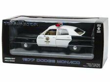 Greenlight Gl84101 1/24 The Terminator 1977 Dodge Monaco Metropolitan Police Die