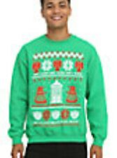 Doctor Who Dr. Don't Blink Ugly Holiday Christmas Sweater Size Extra Large NWT
