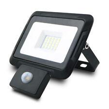 1600 Lumen LED Fluter Strahler Außenlampe Baulampe Bewegungsmelder 20W kaltweiß