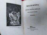E. T. A. Hoffmann Il vaso d' oro prima traduzione italiana Milano Truffi 1835 ra