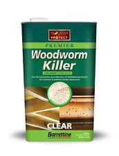 5L Woodworm WOOD WORM Killer Solvent Preserver fast acting treatment