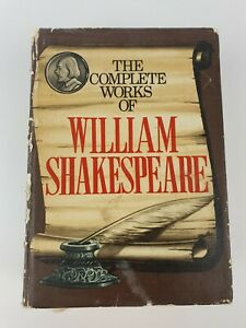 The Complete Works of William Shakespeare, Hardcover, Book, 1974