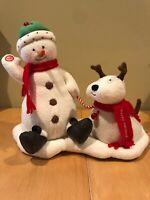Hallmark Jingle Pals 2004 Singing Snowman Dog Reindeer