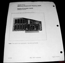 Apple IIgs Australian RAM Card Service Sheet