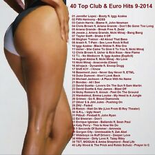 Promo Video Compilation DVD, 40 Top Club/Euro Dance Hits Sept 2014, ONLY on Ebay