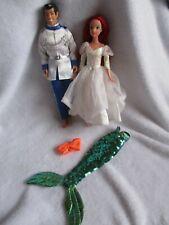 Paquete De Muñecas Disney The Little Mermaid Princesa Ariel Y Prince Eric