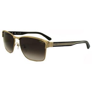 Police Sunglasses Glider 2 8851 08FF Gold & Black Brown Gradient