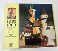 Big Ben 1000 Pc Village 'Virgental Valley Church Austria' Jigsaw Puzzle - New