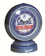Vespa Servizio Alarm Clock Blue New 605399M