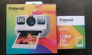 New Polaroid Go Instant Camera Starter Bundle with Film