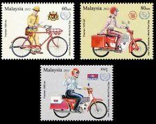 Postman's Uniform  Malaysia 2012 Vehicle Bicycle Motorcycle Postal (stamp) MNH
