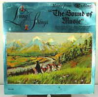 """12"""" 33 RPM MONO LP - RCA CAMDEN CAL-869 - SONGS from THE SOUND OF MUSIC (1965)"""