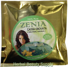 200g Zenia CASSIA OBOVATA ITALICA NEUTRAL HENNA SENNA POWDER Hair Condition USA