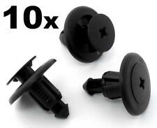 10x Subaru 8mm Plastic Rivet Panel Clips Bumper, Engine Undertray, Sideskirts...