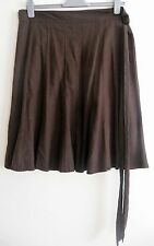 "Ladies Brown skirt (size 14) 26"" long"