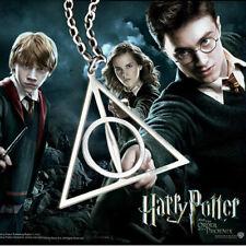 La película caliente Harry Potter Deathly Hallows encanto Talismán Colgante Collar Cadena