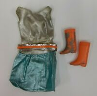 Vintage 1960s Barbie Doll Clothing Zokko! Disco Outfit #4820