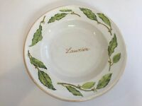 "William Sonoma ""Laurier"" Pasta Bowl, Made in Italy, 10 1/2"" Diameter x 2"" High"