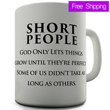 Twisted Envy Funny Short People Ceramic Mug Personalized coffee tea Mug