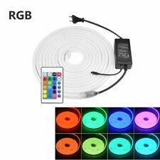 1/2/3/5M DC12V Soft LED Neon Tube Flexible Rope Sign Bar Strip Light Waterproof