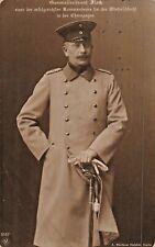 PRUSSIAN GENERALLEUTNANT PAUL FLECK-FELDPOST PHOTO POSTCARD