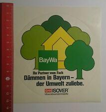 Aufkleber/Sticker: BayWa G+H Isover Mineralfaserdämmstoffe (300816175)