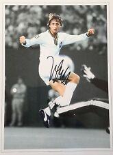 Johan Cruyff Barca Holanda firmado 16x12 imagen M1 Cosmos Foto Distribuidor UACC AFTAL