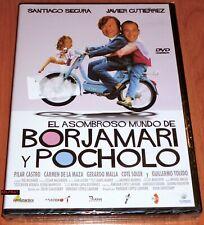 EL ASOMBROSO MUNDO DE BORJAMARI Y POCHOLO - DVD R2 - Precintada
