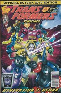 TRANSFORMERS TIMELINES #5 - Back Issue (S)