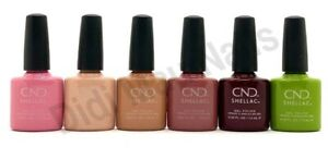 CND Shellac UV Gel Polish .25 oz - AUTUMN ADDICT COLLECTION FALL 2020 NEW!