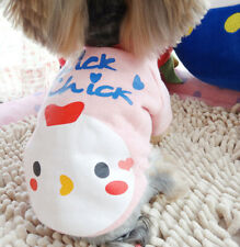 Pet Sweater Soft Dogs Clothes Shirt Puppy Christmas Costume Little Chick Cute