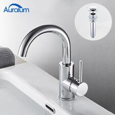 Waschtischarmatur Mischbatterie Wasserhahn Waschbecken Ablaufventil mit Überlauf