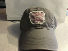 "Life Is Good Cap Hat Fishing Square Double Fish Patch Grey  ""Buy 4 Get 1 Free"""
