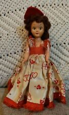 Vtg 1930-40s Nancy Ann Storybook Doll Rare Features Queen of Hearts Bisque