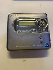 Minidisc Sony Mz Nh6000