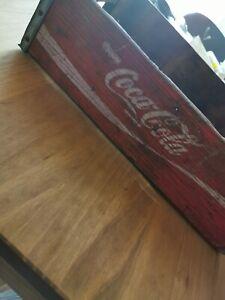 Alte Coca Cola Kiste Retro Holz