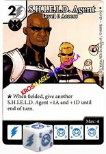 063 S.H.I.E.L.D. AGENT Level 6 Access -Common- AGE OF ULTRON Marvel Dice Masters