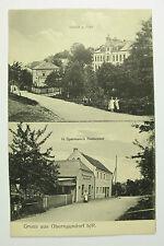 Obernaundorf bei Rabenau - Restaurant Sparmann Schule und Post  / AK 69