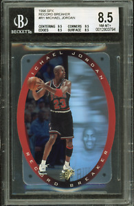 1996-97 Michael Jordan BGS 8.5 Upper Deck SPX Record Breaker Die Cut #R1 (2x9.5)