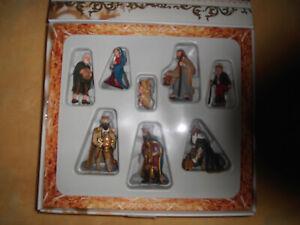 Schleich Krippenfiguren im Originalkarton verpackt, mit Krippe u. weit. Zubehör