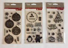 Variety of 6 Hampton Art Jillibean Soup Christmas Themed Stamp/Die Sets