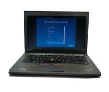 LENOVO THINKPAD LAPTOP T450  i5-5300U 2.3GHz 8GB Ram 64GB SSD WIN 10 PRO