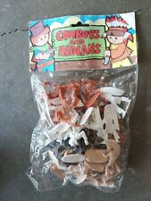 VINTAGE COWBOYS AND INDIANS toy soildiers