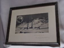 Historic Photo Schooner Bowdoin 1925 Artic Expedition Byrd & MacMillan Autograph