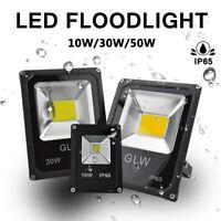 DC12V LED Flood Light 10W/30W/50W Safelight Waterproof Spot Lamp Yard Outdoor