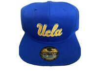 UCLA BRUINS EMBROIDERED LOGO PATCH HAT CAP 🧢 ROYAL BLUE SNAPBACK NEW NWT