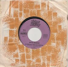 "45 TOURS / 7"" SINGLE-DICK RIVERS-JE CONTINUE MON ROCK 'N' SLOW / MAMAN N'AIME..."