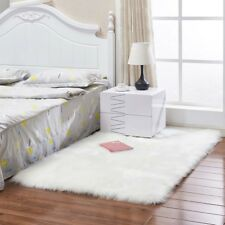 Anti-Skid Home Bedroom Fluffy Mat Area Floor Rug Room Shaggy Plush Soft Carpet