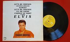 ELVIS PRESLEY ** Let's Be Friends - Seamos Amigos ** RARE 1984 REISSUE Spain LP