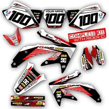 2004-2014 HONDA CRF 250 X DIRT BIKE GRAPHICS KIT CRF250X MOTOCROSS RACING DECALS